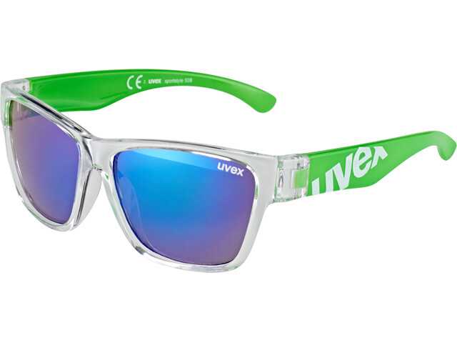 UVEX sportstyle 508 Kids Glasses clear green